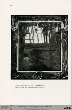 Deutsche Kunst und Dekoration [German Art and Decoration] magazine, Volume 4, 1899.