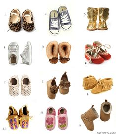All of the best places to buy shoes for your baby. Click through for the details. | glitterinc.com | @glitterinc