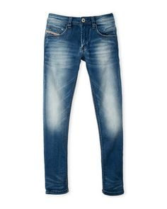 (Boys 8-20) Regular Slim Tapered Jeans