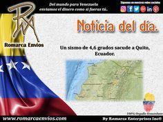 Un sismo de 4,6 grados de magnitud a poca profundidad sacudió con fuerza a la capital ecuatoriana la noche del domingo, dejando tres heridos leves, informaron las autoridades. El epicentro del movimiento telúrico se produjo a 4,73 kilómetros de profundidad, hacia las siete de la noche, hora local, señaló el Instituto Geofísico de ese país en su cuenta de Twitter. http://www.eltiempo.com/mundo/latinoamerica/sismo-de-46-grados-sacude-quito-ecuador/16692005