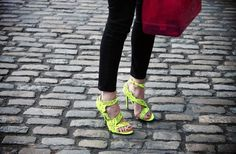 Neon shoes