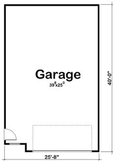 Plan 62642dj 2 Car Garage Plan With Shop Shops Cars And Houses