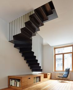 Renovating, splitting and extending a Brussels terraced-house