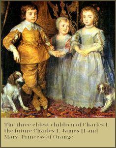 The children of Charles I