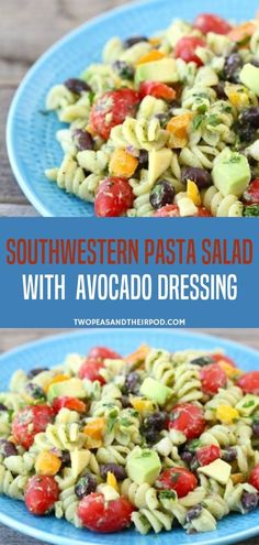 The Perfect Salad Pasta Recipe For Picnics, Potlucks, Parties, Or Everyday Eating. Prepared In 25 Minutes, Taste The Flavors Of Southern Pasta Salad With Creamy Avocado Dressing Save This Pin For A Healthy And Creamy Salad Recipe Fun Easy Recipes, Easy Salad Recipes, Pasta Recipes, Healthy Recipes, Recipe Pasta, Summer Recipes, Healthy Meals, Healthy Food, Healthy Eating