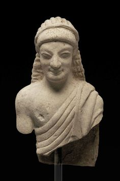 Fragmentary statue of a girl (Kore).      Greek, South Italian, Late Archaic Period, late 6th to early 5th century B.C.