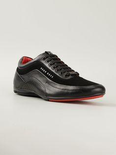 f74eb549ae Hugo Hugo Boss zapatillas con cordones y paneles Hugo Boss Shoes, Hugo Boss  Man,