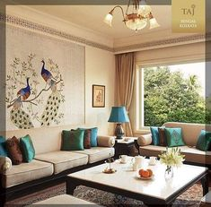 indian home decor Report Exposes The Unanswered Questions On Go Retro In A Traditional Home 93 - homesdecoring Living Room Sofa Design, Home Living Room, Living Room Designs, Living Room Decor, Spacious Living Room, Design Bedroom, Ethnic Home Decor, Indian Home Decor, Indian Interior Design