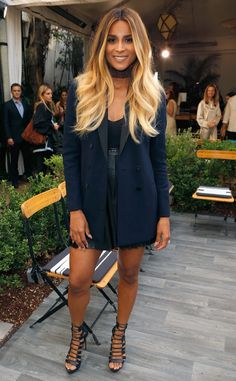 Baby on board! Just days after announcing she's expecting, the songstress makes an appearance at a fashion event in L.A.