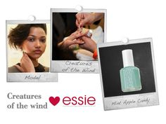 essie Mint Apple Candy for Creatures of the Wind   more on facebook.com/essieDE