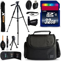 Carry Bag for Ergo First B500 DURAGADGET Telephoto Zoom Lens Kit with Tripod