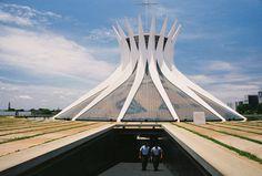 One more shot of Oscar Neimeyer's Catedral Metropolitana Nossa Senhora Aparecida