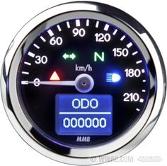 W&W Cycles - Speedometers and Instruments > 19-600
