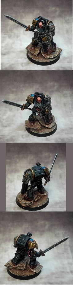 capitaine terminator Deathwatch