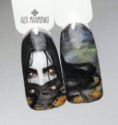 Про Ногти (МК,материалы для ногтей)Nails PRO™ Halloween Nail Art, Russia, Design, Nail Art, Community, Faces, Ongles