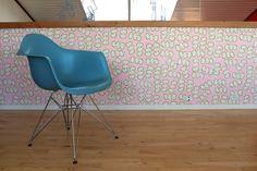Handmade wallpaper from LLZ TAPET Denmark