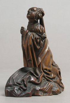 Saint Mary Magdalene | Date: 16th century; Geography: Made in, Lower Rhineland, Germany; Culture: German ;Medium: Boxwood; Classification: Sculpture | This artwork is not on display at the MET