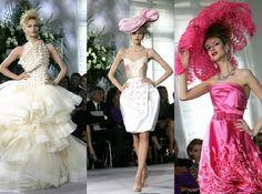 Haute couture fashion!