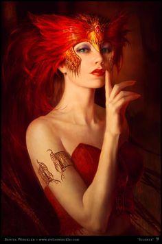 red headress