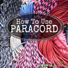 """Why all the fuss about paracord,"" you ask? Simple. Paracord has so many uses! You can make bracelets, lanyards, keychains, and the list goes on and on..."