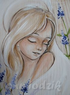 Inspirational Canvas Art, Art Studio At Home, Painting People, Guardian Angels, Angels And Demons, Angel Art, Pictures To Paint, Art Studios, Painted Rocks