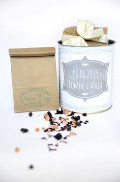 Herbaciana puszka dla gości weselnych http://3dpoint.pl/?page_id=15188