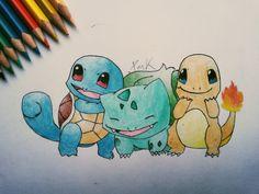 Pokemon family  #pokemon #squirtle #bulbasaur #charmander #dragon #turtle #power #water #earth #fire #fairytail #pokeball #pocketmonsters #animeart #friendship #true #love #bestfriendsforever #cute #geek #kawaii #cute #draw #drawing #art #paper #painting #colour #blue #green #orange