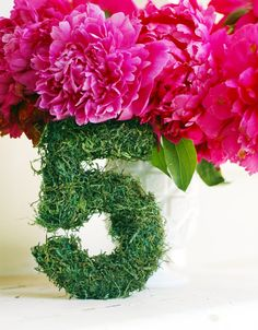 Moss Table Numbers Garden Party Wedding by whitetulipboutique, $150.00