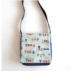 Robots work in the Car Factory  Messenger Bag for von meeabee, $35.00