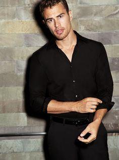 Theo James on Cologne, Hydration, and Staying in Shape: The Daily Details: Blog : Details