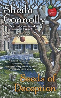 #Review / #Giveaway - Seeds of Deception by Sheila Connolly