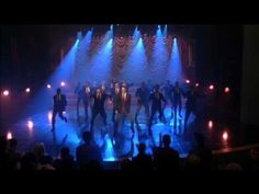 "GLEE - Full Performance of ""Glad You Came"" airing"