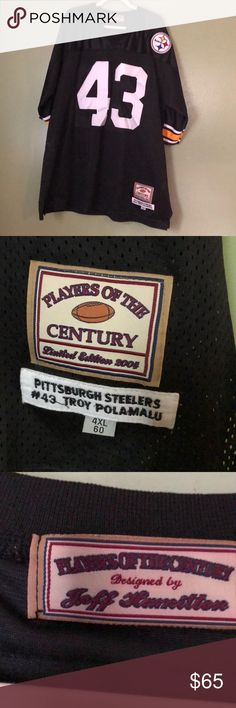 6352b6886 Pittsburgh Steelers NFL Jersey NFL Pittsburgh Steelers Jersey. Troy  Polamalu  43. Players of