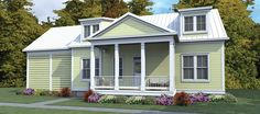 ePlans Low Country House Plan – Low Country With Rear-loading Side Carport – 1686 Square Feet and 3 Bedrooms from ePlans – House Plan Code HWEPL76523