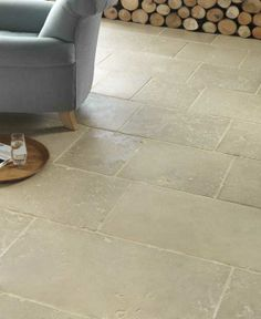 Portland Fossil Limestone Tumbled Finish   Artisans of Devizes Hall Flooring, Limestone Flooring, Porch Flooring, Kitchen Flooring, Cottage Bath, Rose Cottage, Conservation Architecture, Neptune Kitchen, Portland Stone