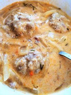 Azt mondta a lányom, hogy úgy enne kerékrépa levest – Mai Móni Naan, Cheeseburger Chowder, Hummus, Soup, Chicken, Ethnic Recipes, Soups, Cubs