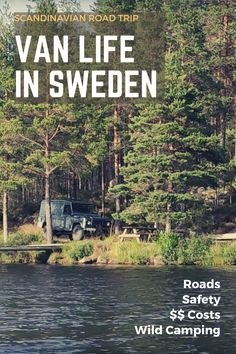 Twice we cruised over the roads of Sweden with our Land Rover Defender. In this post, we are going to tell you what living a van life in Sweden is like: Is it safe? Is wild camping legal in Sweden? What should you be aware of on your road trip through #Sweden? #vanlife #travel #nature Road Trip Van, Road Trip Hacks, Camping Hacks, Top Travel Destinations, Europe Travel Tips, Wild Campen, By Train, Ultimate Travel, Van Life