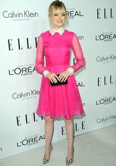 Love everything about this!   Emma Stone at 2012 Elle Women in Hollywood | Fashion Week Design