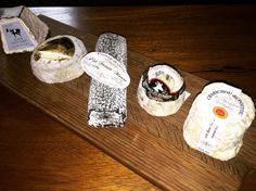 The best part about my job is doing the research. Well someone has to. Five fabulous goats cheeses.
