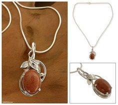 Home Decor, Jewelry & Gifts by Talented Artisans Worldwide Pendant Jewelry, Pendant Necklace, Jewelry Necklaces, Sterling Silver Necklaces, Silver Jewellery, Jewelry Gifts, Mystic, Washer Necklace, Leaves