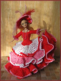 historical doll dress