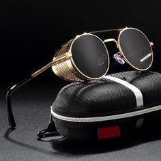 Cool Glasses, Eye Glasses, Punk Fashion, Retro Fashion, Specs Frame, Steampunk Sunglasses, Cheap Ray Ban Sunglasses, Business Casual Men, Glass House