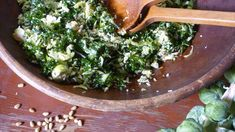 Kale and Brussels Sprout Salad Recipe : Nancy Fuller : Food Network