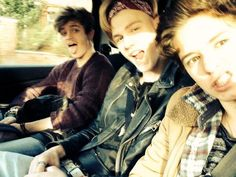 Connor Ball, Tristan Evans and Bradley Simpson // The Vamps