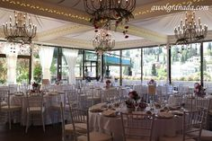 Carmen de los Chapiteles - AWOL Granada - A Wedding of a Lifetime - Granada, Spain Granada Spain, Wedding Decorations, Table Decorations, Beautiful Gardens, Garden Wedding, Wedding Venues, Restaurant, Destination Weddings, Architecture