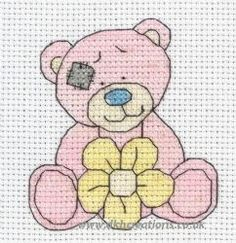 Tatty Teddy My Blue Nose Friends Cuddles Cross Stitch Kit