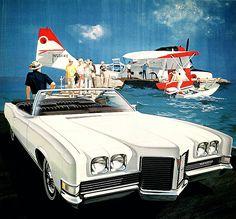 1971 Pontiac Catalina Convertible: Art Fitzpatrick and Van Kaufman Illustrations Poster, Car Illustration, Cars Usa, Us Cars, Vintage Advertisements, Vintage Ads, Pontiac Parisienne, Pontiac Cars, Chevrolet Corvette