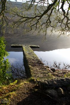Pier, Loch Oich, Scottish Highlands Get the wee Boat in the water and row till your Heart is content <3