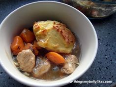 Paleo Chicken and Dumplings Casserole!!! ABSOLUTELY DELICIOUS! Will be making again in the near future.