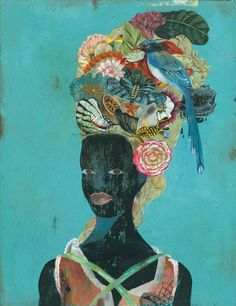 Does anyone know who the artist is? I found the Artist {Olaf Hajek, Illustrator} January Commissioned work for a collector in New Zealand Art And Illustration, Black Women Art, Black Art, Olaf, Inspiration Art, Art Inspo, Arte Pop, African American Art, Art Moderne